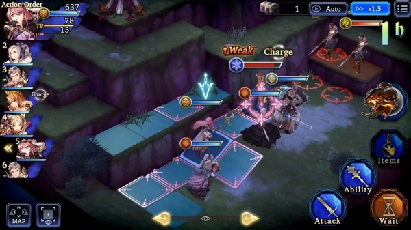 WAR OF THE VISIONS FFBE Android Game Image 4