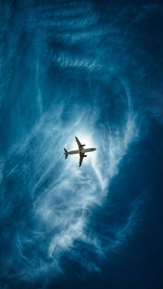 Airplane Mobile Phone Wallpaper Image 1