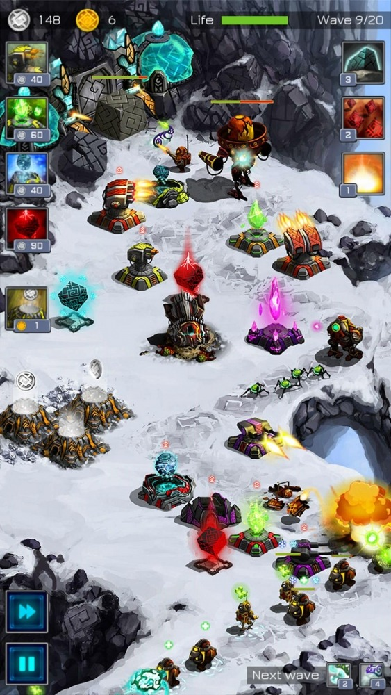 Ancient Planet Tower Defense Offline Android Game Image 1