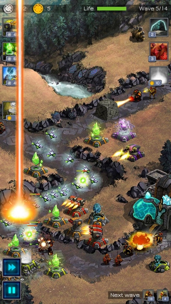 Ancient Planet Tower Defense Offline Android Game Image 3
