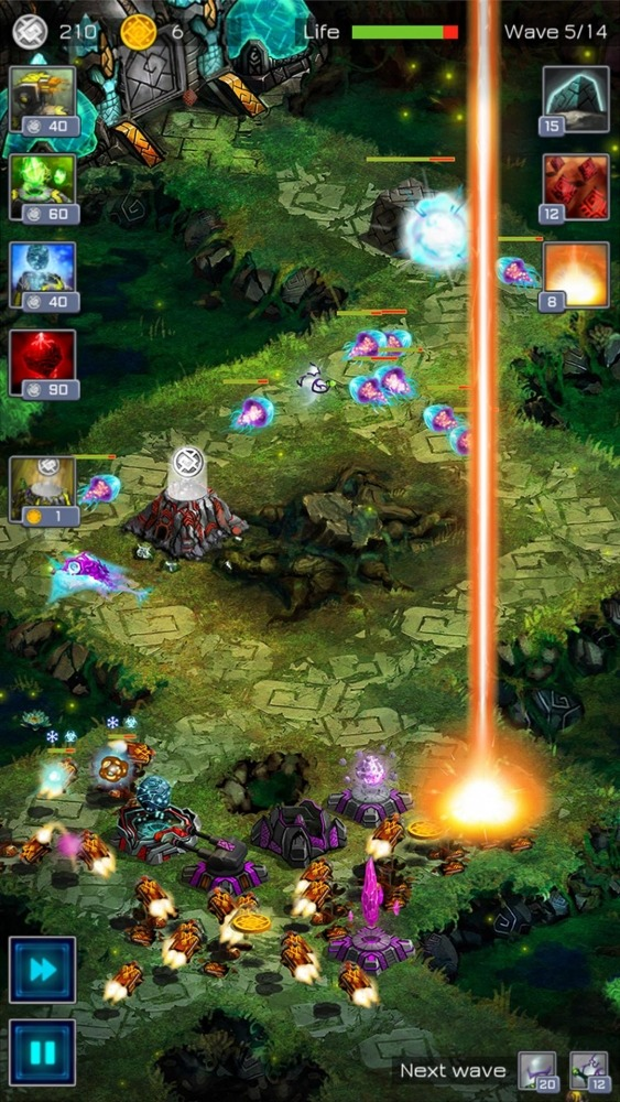 Ancient Planet Tower Defense Offline Android Game Image 4