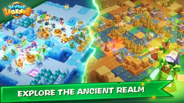 Divine Legends Android Game Image 2