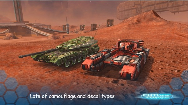 Future Tanks: Action Army Tank Games Android Game Image 2