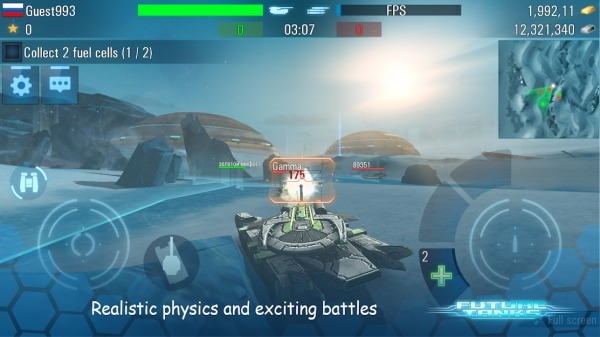 Future Tanks: Action Army Tank Games Android Game Image 5