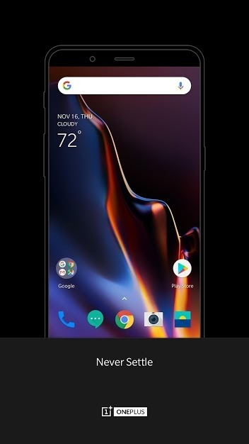 OnePlus Launcher Android Application Image 1