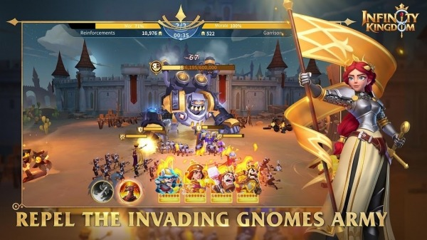 Infinity Kingdom Android Game Image 2
