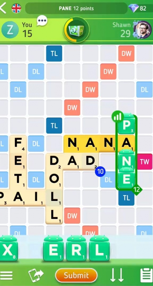 Scrabble GO - New Word Game Android Game Image 4
