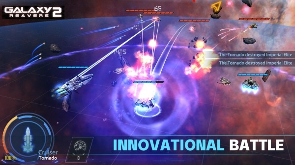 Galaxy Reavers 2 Android Game Image 1