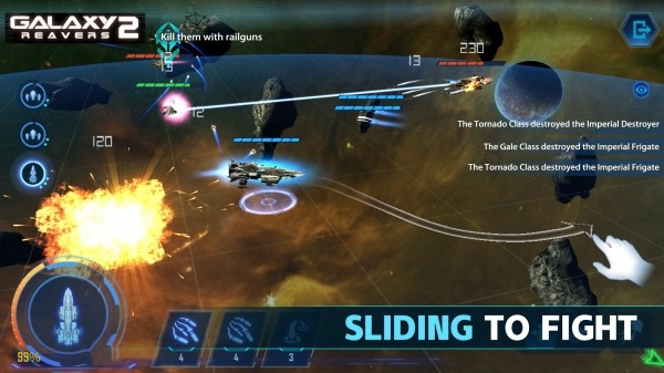 Galaxy Reavers 2 Android Game Image 2