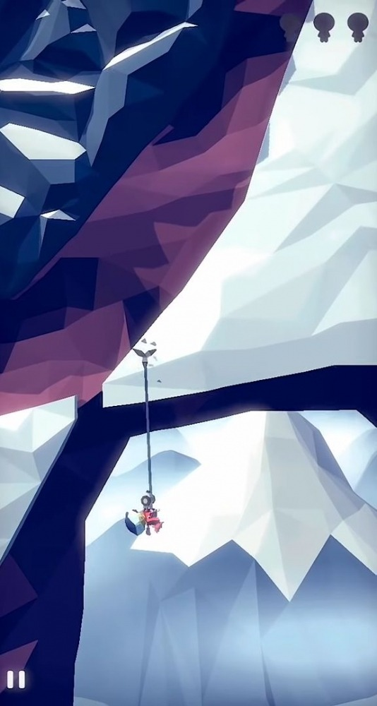 Hang Line: Mountain Climber Android Game Image 2