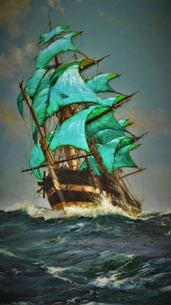 Ship Android Wallpaper Image 1