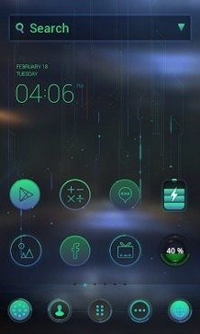 Tech Tuning Dodol Launcher Android Theme Image 1