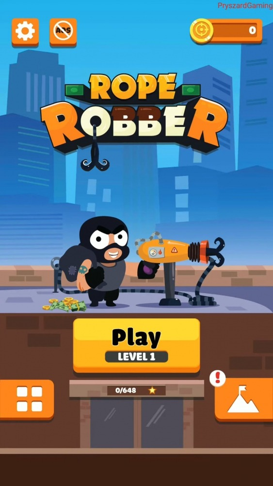 Rope Robbers Android Game Image 1