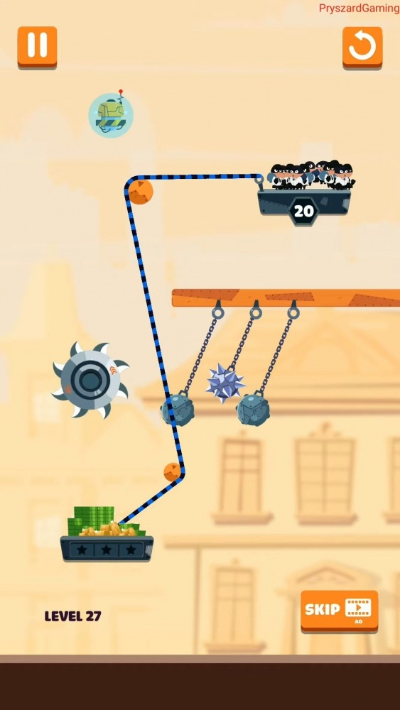 Rope Robbers Android Game Image 4
