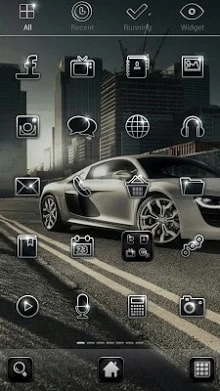 CityRacing Dodol Launcher Android Theme Image 2