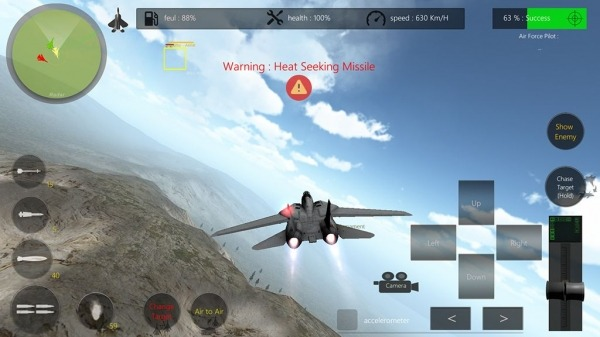 Air Scramble : Interceptor Fighter Jets Android Game Image 2
