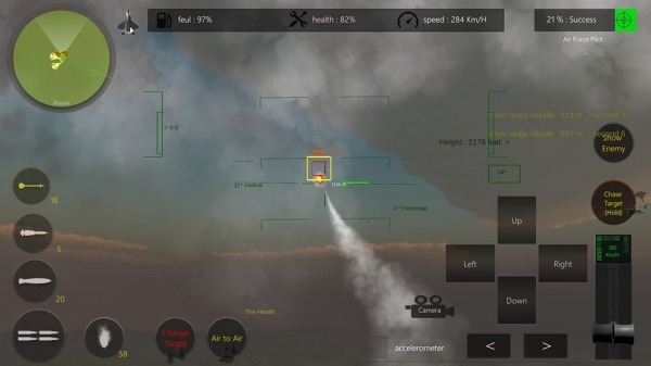 Air Scramble : Interceptor Fighter Jets Android Game Image 4