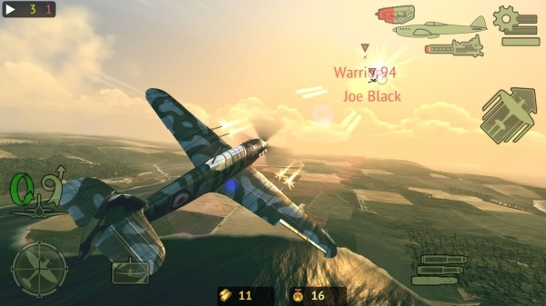 Warplanes: Online Combat Android Game Image 1