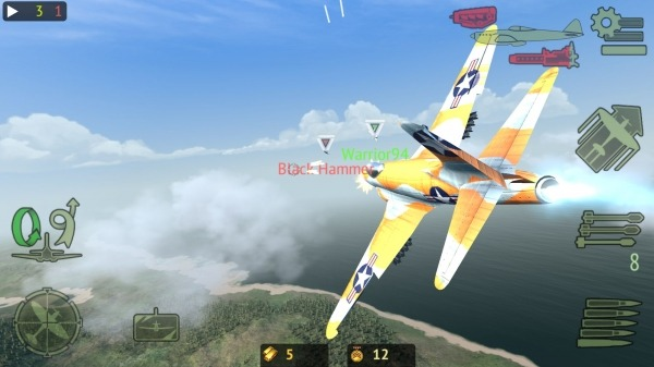 Warplanes: Online Combat Android Game Image 2