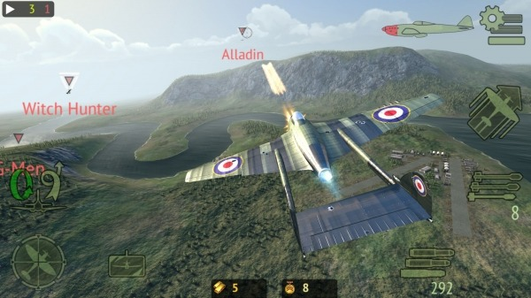 Warplanes: Online Combat Android Game Image 3