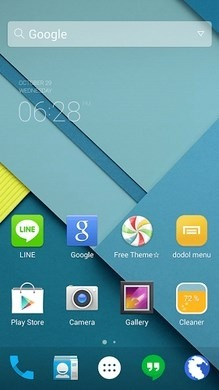 Android Lollipop Dodol Launcher Android Theme Image 1