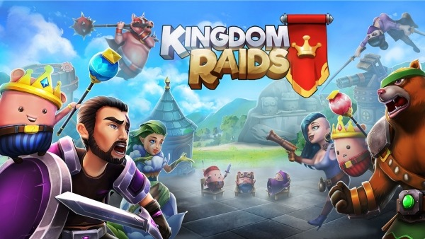Kingdom Raids - Puzzle Wars Android Game Image 1