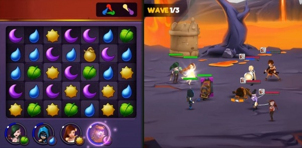 Kingdom Raids - Puzzle Wars Android Game Image 2