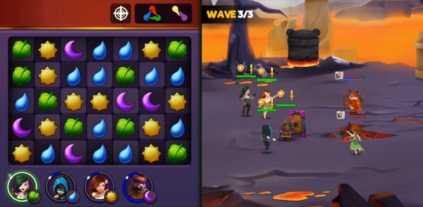 Kingdom Raids - Puzzle Wars Android Game Image 3