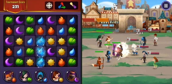 Kingdom Raids - Puzzle Wars Android Game Image 4