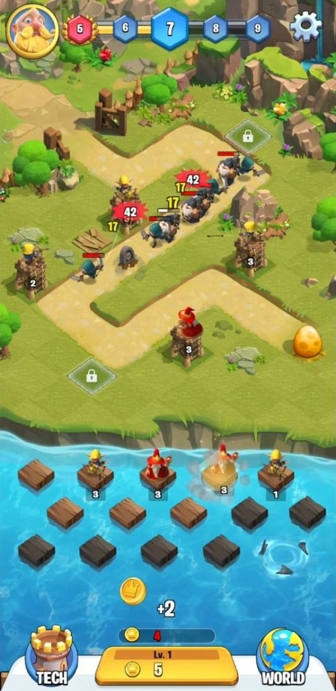 Kingdom Guard Android Game Image 2