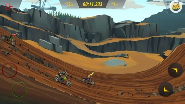 Mad Skills Motocross 3 Android Game Image 4
