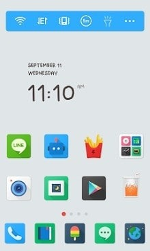 Color Pop Dodol Launcher Android Theme Image 1