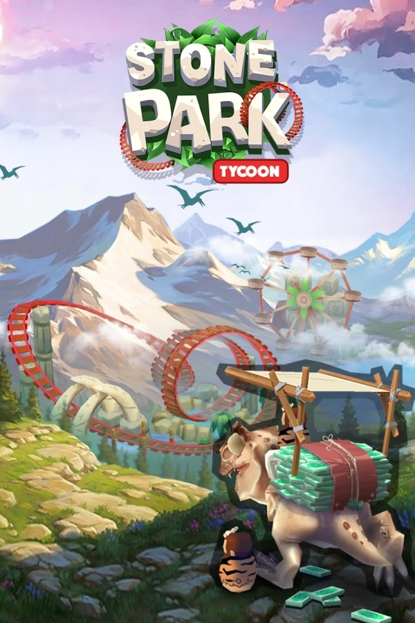 Stone Park: Prehistoric Tycoon Android Game Image 1