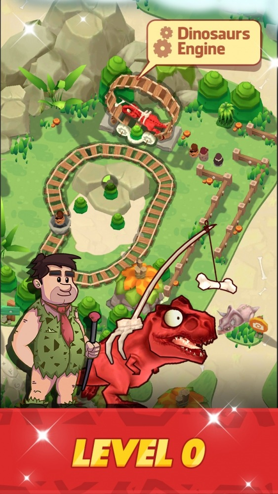 Stone Park: Prehistoric Tycoon Android Game Image 2