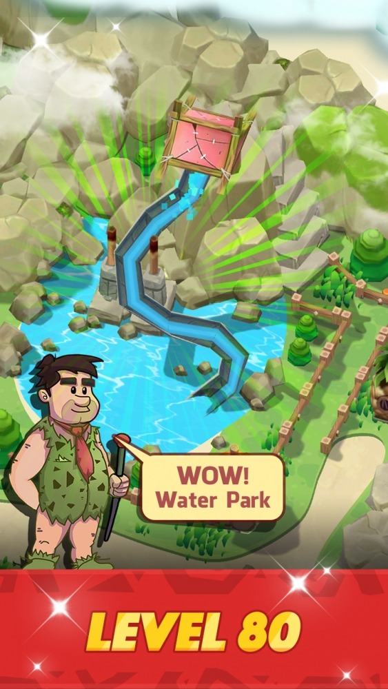 Stone Park: Prehistoric Tycoon Android Game Image 5