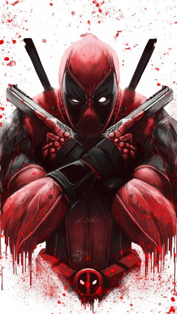 Deadpool Android Wallpaper Image 1