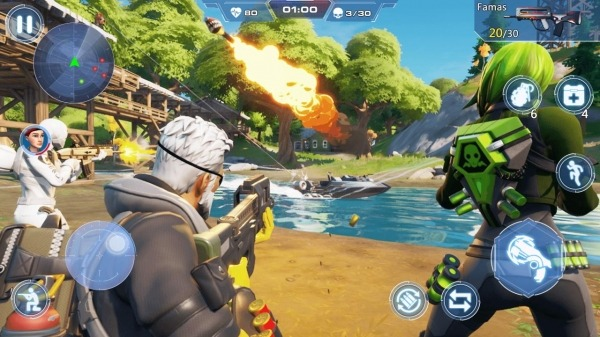 Cover Hunter - 3v3 Team Battle Android Game Image 5