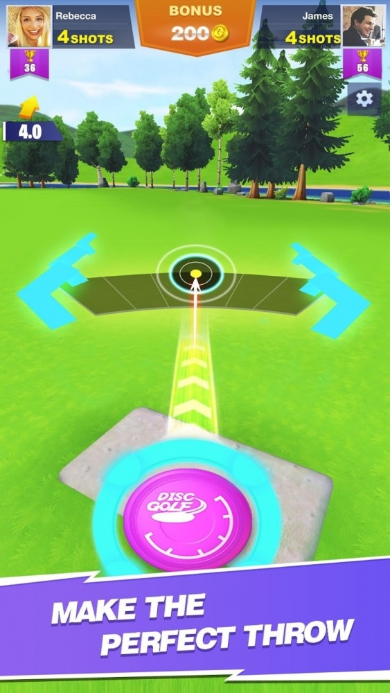 Disc Golf Rival Android Game Image 1
