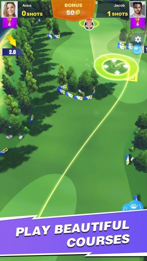 Disc Golf Rival Android Game Image 3