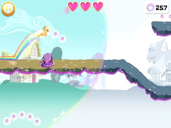 My Little Pony Rainbow Runners Android Game Image 1