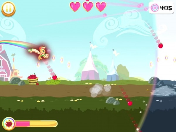 My Little Pony Rainbow Runners Android Game Image 3