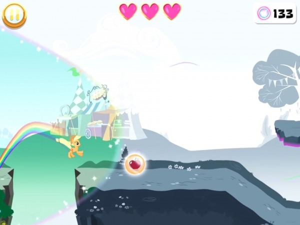 My Little Pony Rainbow Runners Android Game Image 4