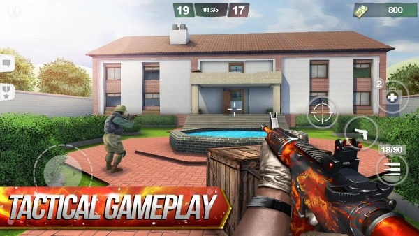 Special Ops: FPS PvP War-Online Gun Shooting Games Android Game Image 1