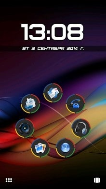 Chromium Smart Launcher Android Theme Image 1