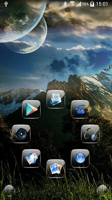 Glint Smart Launcher Android Theme Image 1