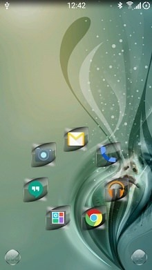 Gloss Smart Launcher Android Theme Image 1