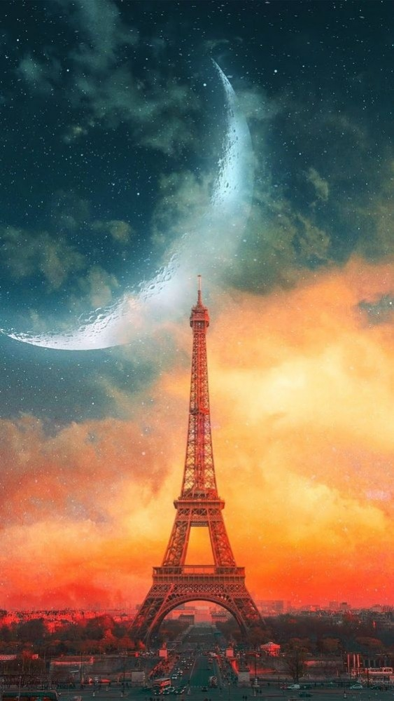 Eifel Tower Android Wallpaper Image 1