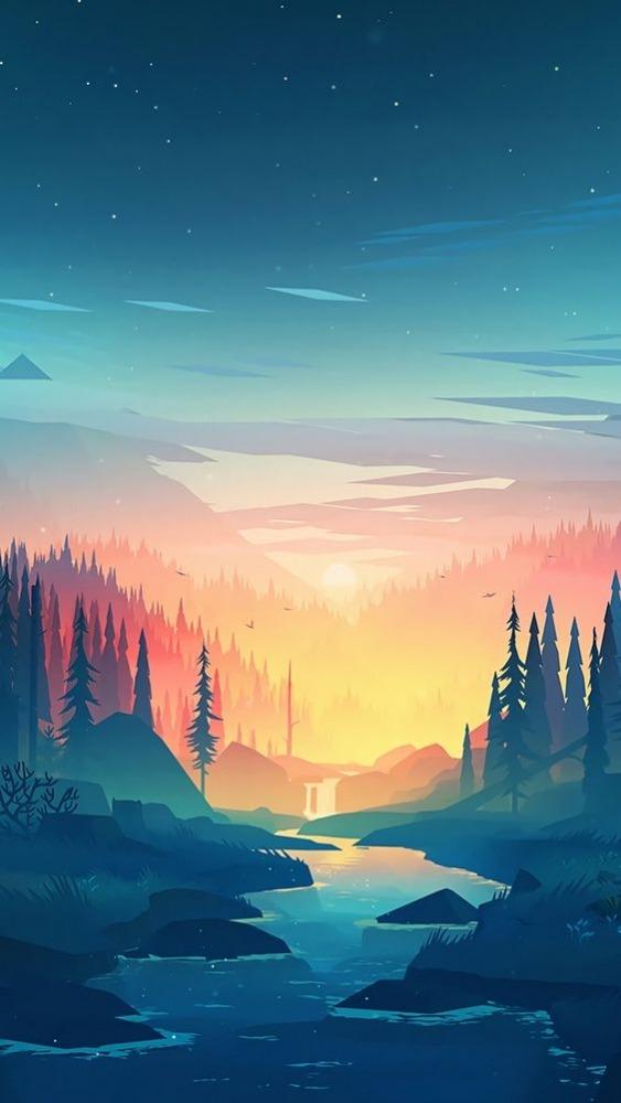 Lake Android Wallpaper Image 1