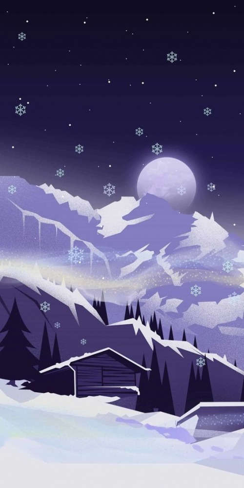 Snow Android Wallpaper Image 1