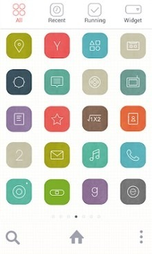 Line Grid Dodol Launcher Android Theme Image 2